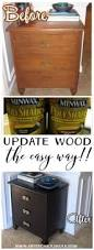 Modernizing Antique Furniture by Super Easy Way To Update Wood Stained Furniture Artsy Rule