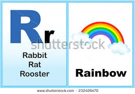 words that start with the letter r clipart