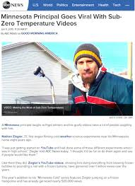 in the news u2013 minnesota cold u2013 cold weather experiments