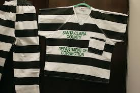 San Jose Sharks Flag Inmates At Milpitas Jail Back In Black And White Stripes U2013 The
