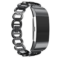 metal link bracelet images Ancool fitbit charge 2 band stainless steel metal jpg