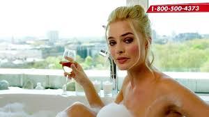 American Beauty Bathtub Scene Watch Margot Robbie U0027s Bubble Bath Scene Spoof For Red Nose Day U2014
