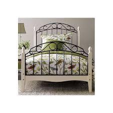 Wood And Metal Bed Frame Wood Metal Bed Frame White Black Brixton Beds
