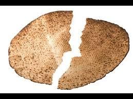 matzo unleavened bread unleavened bread broken matzah