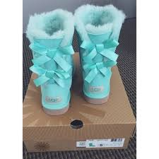 ugg boots sale blue bailey bow ugg mint aqua blue boot and