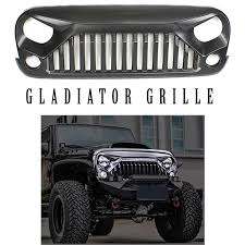 2007 jeep wrangler unlimited accessories gladiator grille for jeep wrangler jk 2007 2017 in stock