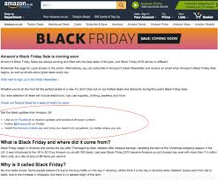 amazon black friday deals web site getting your e commerce site