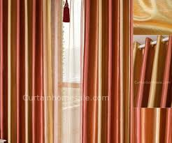 Orange Panel Curtains Curtains Arresting Alarming Orange And Brown Panel Curtains