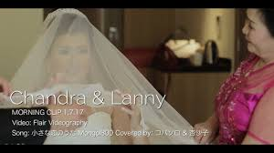 wedding dress sub indo chandra wedding morning clip 小さな恋のうた sub