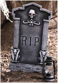 image result for large halloween tombstones tombstones fake