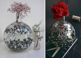 diy sequin decorations that are for the new year 4