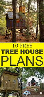 house plans free free tree house plans