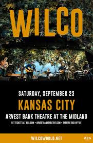 wilco at arvest bank theatre at the midland sep 23 2017