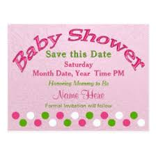 save the date baby shower baby shower save the date cards greeting photo cards zazzle