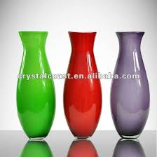 Tall Red Vases Cheap High Quality Modern Murano Glass Cheap Tall Handblown Colored