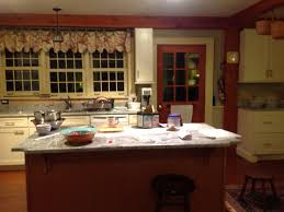 shaker cherry cabinets new england kitchen design