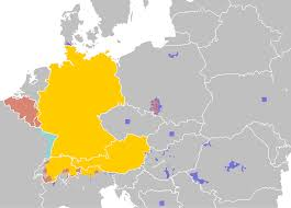 us area code from germany list of territorial entities where german is an official language