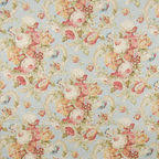 Cherry Blossom Upholstery Fabric Structured Pink Kokka Fabric With Rabbits U0026 Cherry Blossoms