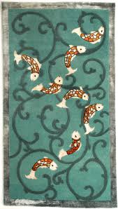 koi rug designed by dana vladone for classic rug collection