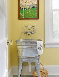 galvanized tub kitchen sink galvanized tub sink laundry room farmhouse with washtub lever handles