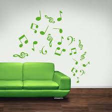 music decorations for home music notes wall decor gallery home wall decoration ideas
