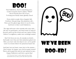 Halloween Boo Bag Poem Diy You U0027ve Been Boo Ed Every Day With Mk