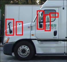 Best Place For Blind Spot Mirror Safe Driving Tips For Drivers Of Large Trucks