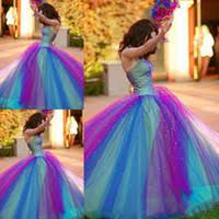 wholesale rainbow wedding dresses buy cheap rainbow wedding