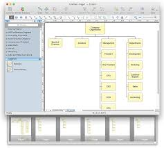 help desk organizational structure the simplest way to create an organizational chart conceptdraw