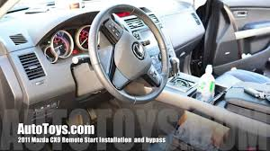 mazda cx9 remote start installation with idatalink bypass by