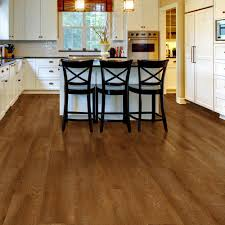 Traffic Master Glueless Laminate Flooring Allure Ultra 7 5 In X 47 6 In Sawcut Arizona Luxury Vinyl Plank