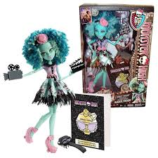 mattel monster high honey swamp foreign doll frights scary camera
