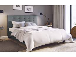 Grey King Size Bed Frame King Size Fabric Bed Frame Henrik Collection Grey King Bed