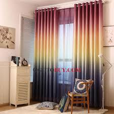 Decorative Curtains Quality Cool Gradient Color Decorative Energy Saving Curtains Buy