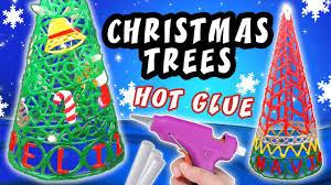 diy christmas trees with glue christmas craft decoration