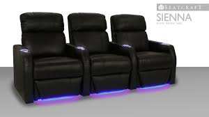 Palliser Theater Seating Seatcraft Sienna Home Theater Seating 4seating