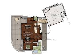 vail valley floor plan by canadian timber frames ltd
