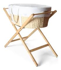 paper twine moses basket with mattress and stand