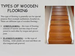 Types Of Flooring Materials And Its Types