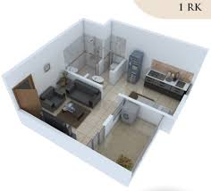 433 sq ft 1 bhk 1t apartment for sale in shreyas happy homes