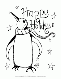 easy holiday coloring pages coloring home