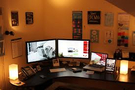 collection home office desk setup photos home remodeling