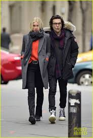 elsa hosk hangs out with her boyfriend alexander dipersia after