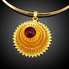 african women necklace images New design 18 carat gold jewelry sets manufacturer african cheap jpg