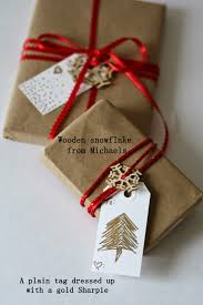 Michaels Gift Wrap - the semi frugal life easy christmas gift wrap ideas