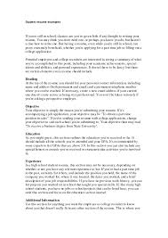 Resume With One Job Experience Job Resume Examples For Highschool Students Resume Example And