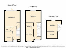 Semi Detached Floor Plans 3 Bedroom Semi Detached New House For Sale In Charles Street