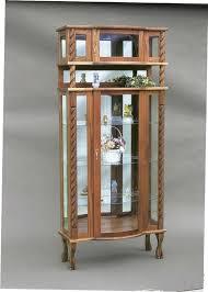 corner curio cabinets for sale doll cabinet medium size of curio cabinet and oak corner curio