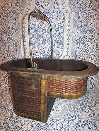 twisted water hyacinth stair basket home willow baskets