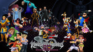 kingdom hearts halloween town background 5 year na anniversary